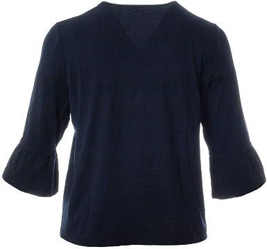 Blaue Sommerjacke Damen große Größen Viskose XXL Cardigan