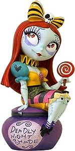 Enesco World of Miss Mindy Nightmare Before Christmas Sally Figurine, 6.1 Inch, Multicolor