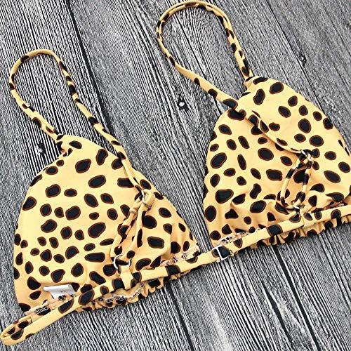 Europea M L Costume Felpa Con Bagno E Dimensione Stampa Da colore Leopardo In Oudan Fasciatura Americana RpZfHzwqw