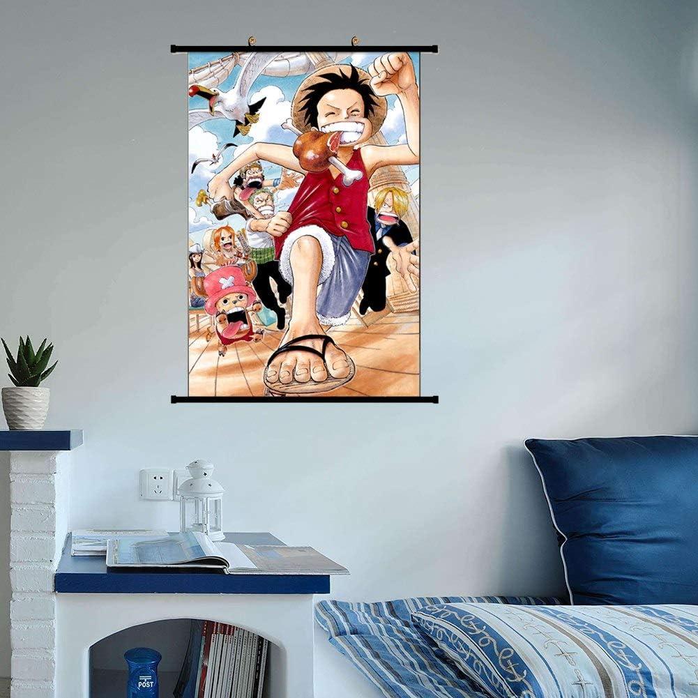 Estilo 01-m Fingertoys Anime Japon/és One Piece Colgante P/óster Luffy Chopper As Roronoa Zoro Pared Rollo Colgante Pinturas Arte Pintar Pared Rollo Poster para Hogar Arte Decoraci/ón