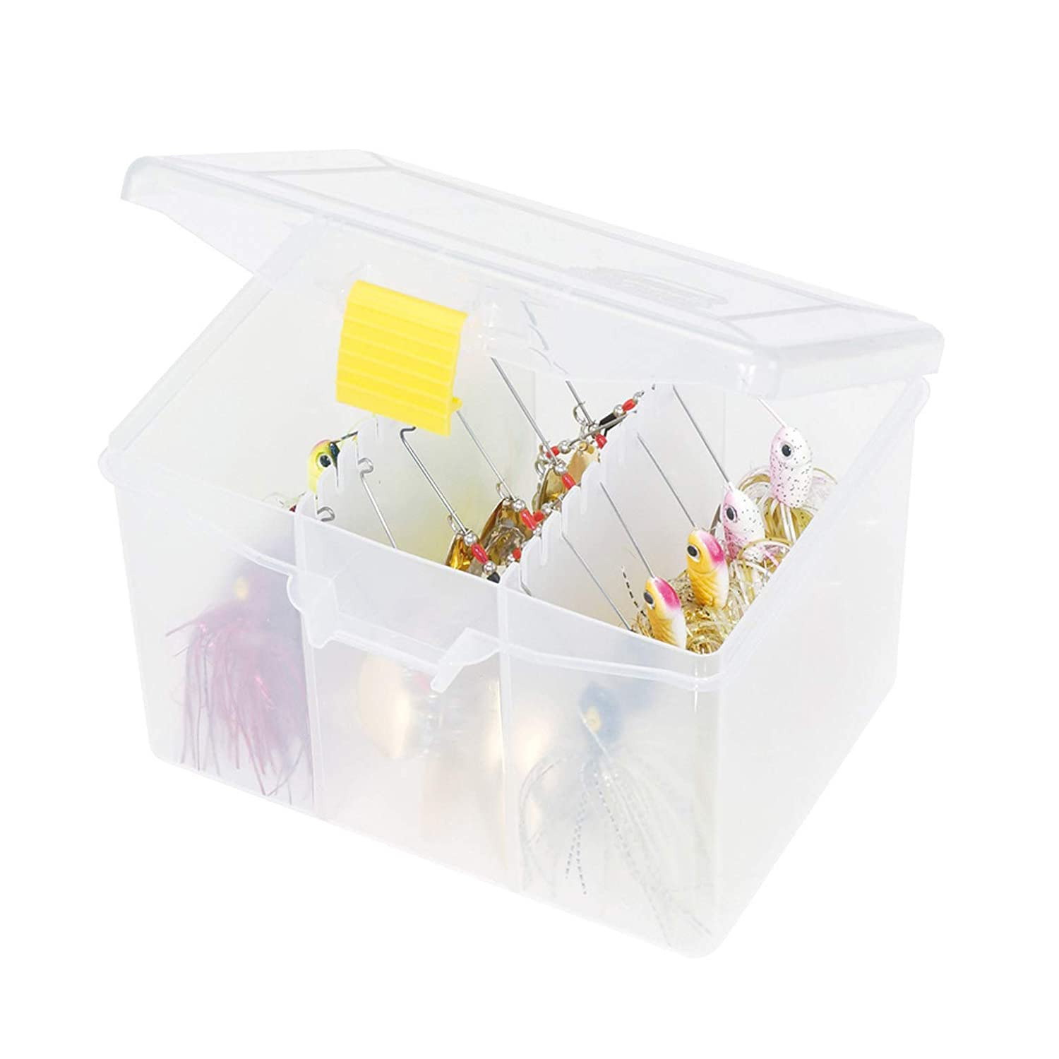 Amazon.com : Plano 3503 StowAway Spinner Bait Box : Fishing Bait Storage : Sports & Outdoors