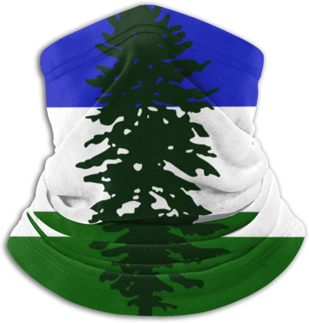 Flag of Cascadia Men Women Cold Weather Neck Gaiter Tube Face Mask