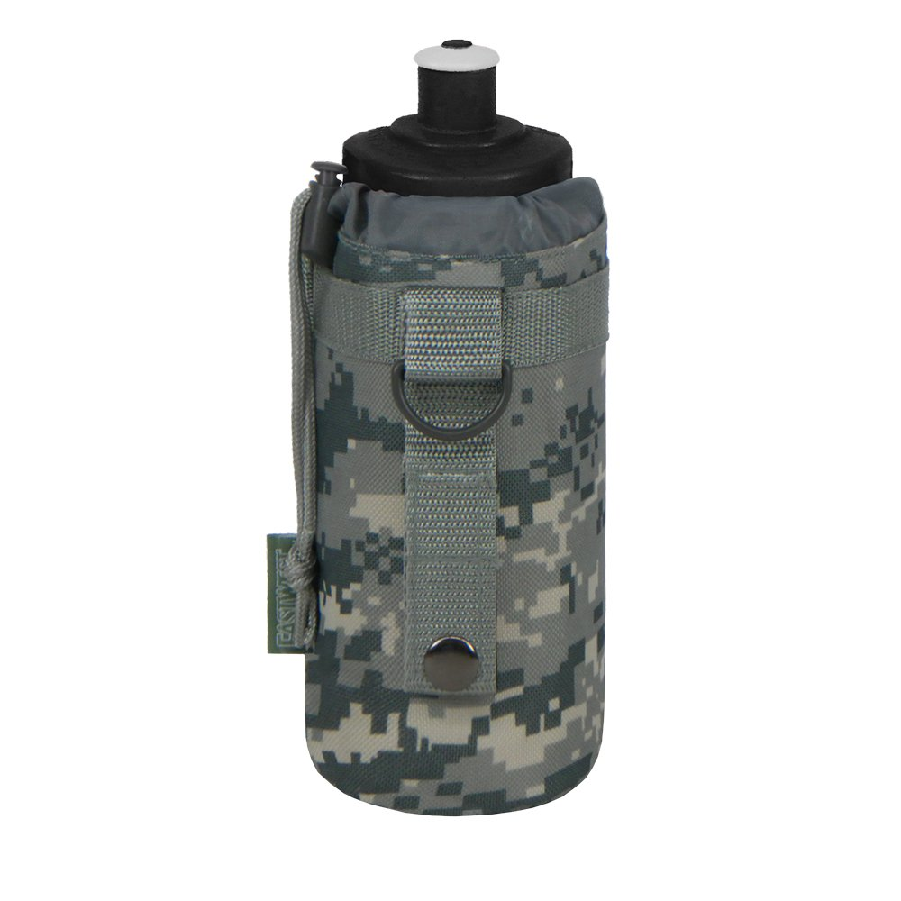 East West U.S.A RTC531 Tactical Military Water Bottle Pouch Molle Kettle Bag Holder
