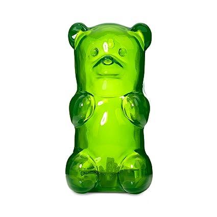 amazon com gummygoods squeezable gummy bear night light for kids