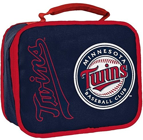 The Northwest Company Officially Licensed MLB Minnesota Twins Lunchbreak Lunchbox (Twins Box Minnesota Lunch)