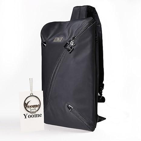 3dc51c8d4c4f Amazon.com   YOOME Sling Bag Crossbody Bag Chest Pack Men Women ...