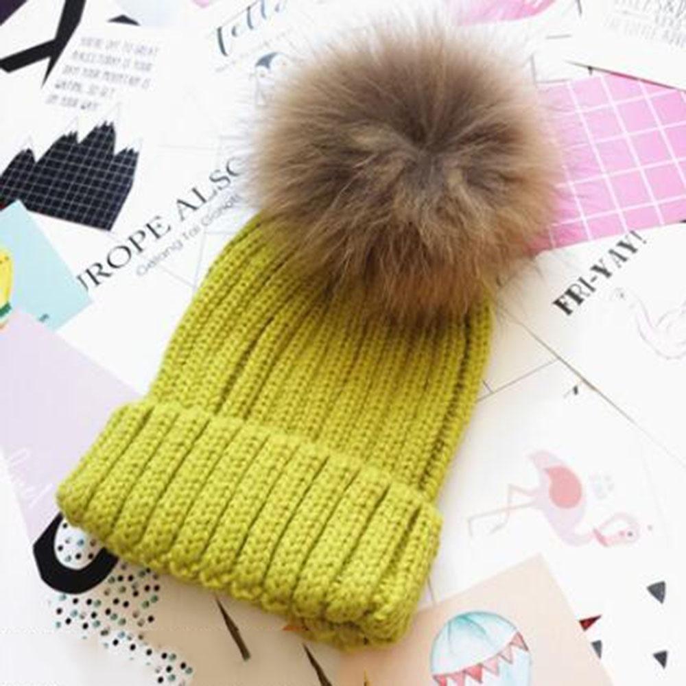 invierno Color sólido prensado Sombrero tejido Además de cachemira Más grueso Moda Mantener caliente Frío Sombrero de fieltro