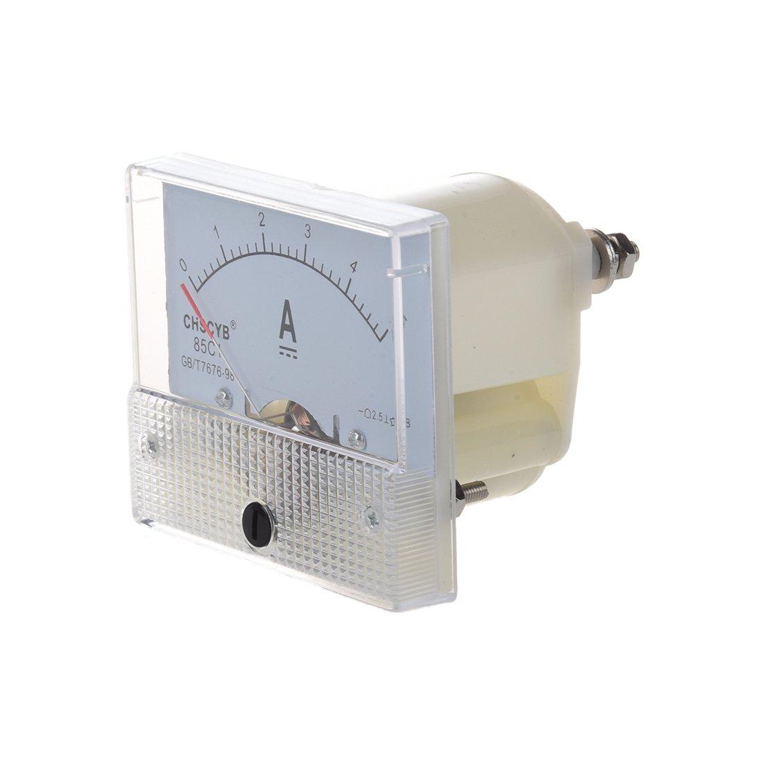 R 85C1-A Analogique Panneau de courant Metre CC 5A AMP Amperemetre SODIAL