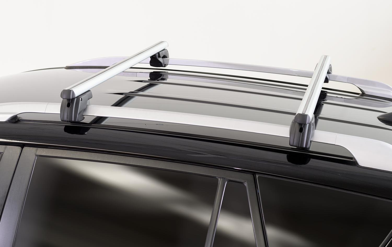 16/Barres de toit 75/kg verrouillable Barres De Sherman 120/en aluminium pour VW Tiguan 07