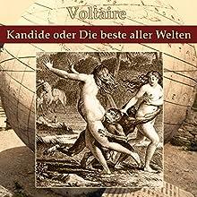 Kandide oder Die beste aller Welten Hörbuch von  Voltaire Gesprochen von: Andreas Dietrich