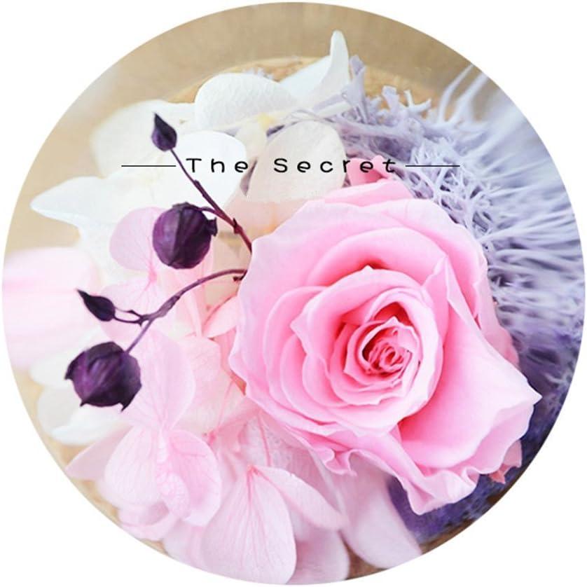 Tumao Rose Fleur /éternelle Rose /éternelle Rose Parfait Comme un Cadeau Pour Mariage Anniversaire Festival No/ël Anniversaire Cadeaux Cr/éatif De La Saint-Valentin Pour Petite Amie Saint Valentin Rosee
