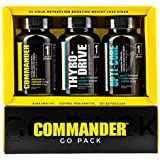 COMMANDER GO PACK Weight Loss System • 30 Day Supply: #1 Best Fat Burner and Metabolism Booster -Burn Fat and Lose Weight Fast With The Most Effective Fat Burner Available - Best Weight Loss Pills