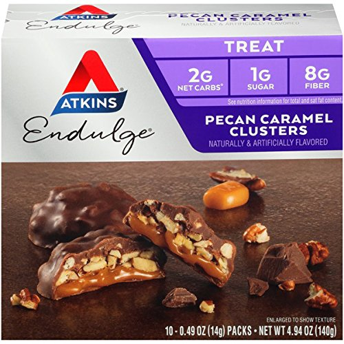 Atkins Endulge Pecan Caramel Clusters - 5 Packs