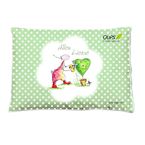 oups kirschkernissen verde: todo Amor, 26 x 19 cm, para Reconfortante calor o