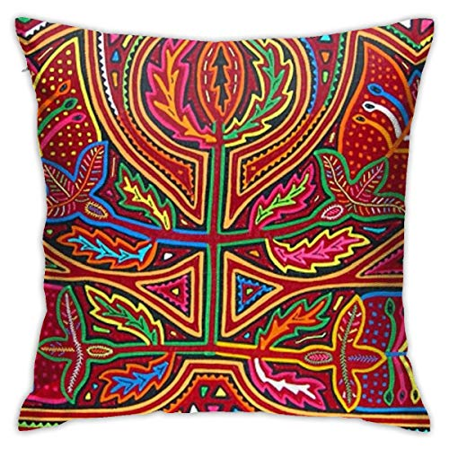 Mabel Mola De Panama Square(45cmx45cm) Pillow Home Bed Room Interior Decoration
