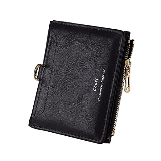 96d96fe6144f TJEtrade Wallets for Women Small Slim Cute Leather Bifold Card Holder Coin  Purse