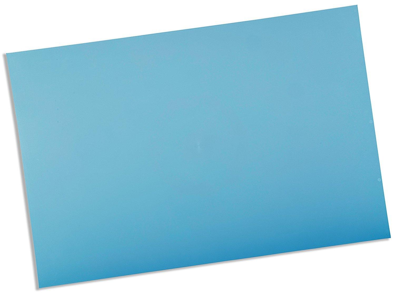 Rolyan Splinting Material Sheet, Ezeform Sample Size, Blue, Solid, 1/8'' x 6'' x 9'', Single Sheet by Cedarburg