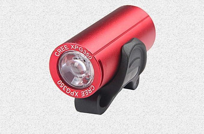 Luz De Bicicleta Luz De Bicicleta De Montaña Carga Usb Luz De ...