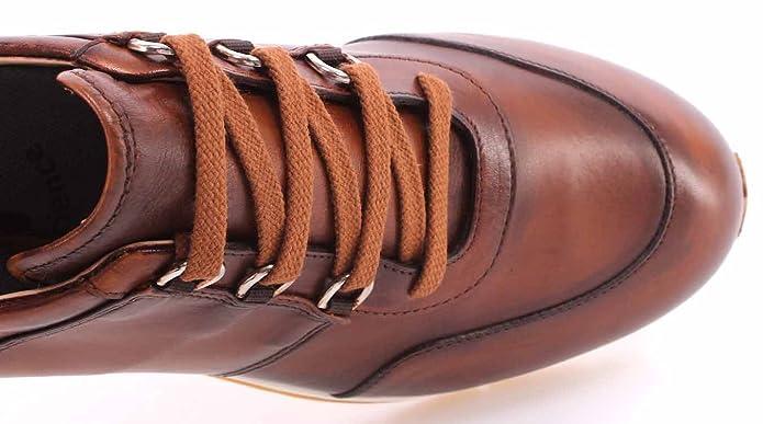 Scarpe Uomo Sneakers ROBERTO BOTTICELLI Limited Vitello Antic Cognac  Experience  Amazon.it  Scarpe e borse 935326afe8a