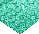 Rubbermaid Commercial FGQ64000 Hygen Microfiber XL General Purpose Cloth, 20-Inch Length x 20-Inch Width, Green (FGQ64000GR00)