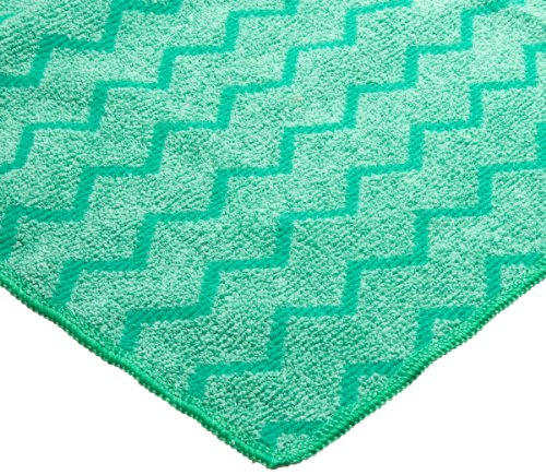 Rubbermaid Commercial FGQ64000 Hygen Microfiber XL General Purpose Cloth, 20-Inch Length x 20-Inch Width, Green (FGQ64000GR00)