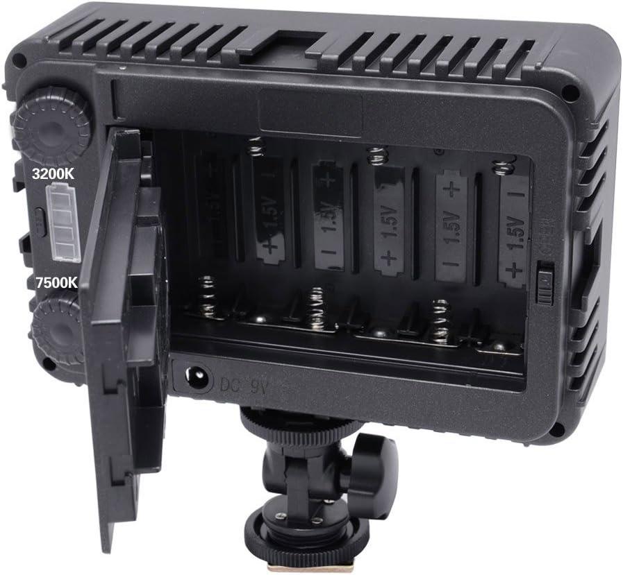 Pentax LED Light for Canon Samsung and Olympus Digital SLR Cameras Panasonic,Sony Nikon Mcoplus 198 Bi-Color LED High Power Panel Lighting Portable Natural Digital Camera Camcorder Video Light