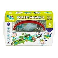 Picnmix Animali della Foresta Puzzle Adesivi Giocattoli Educativi per bambini dai 3 ai 7 anni