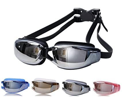 4c43969b512 Amazon.com   Tyzon Swim Goggles for Adult Unisex No Leaking Clear-UV ...