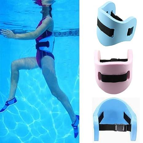 UxradG - Cinturón flotante de espuma para natación para adultos y niños, azul: Amazon.es: Deportes y aire libre