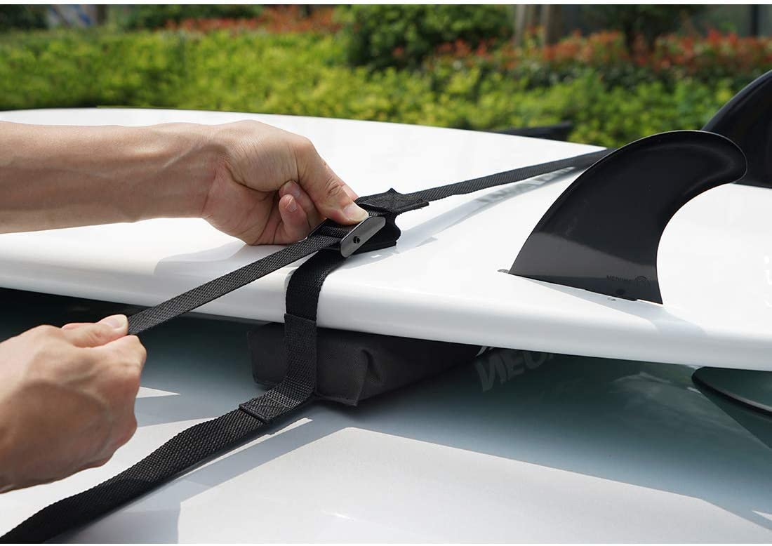 baca universal port/átil COR Surf para transportar tablas de surf y tablas de SUP Portaequipaje con funda de almacenamiento.