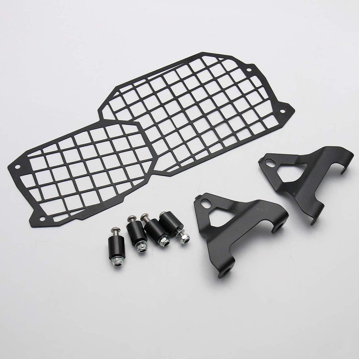 Protecci/ón de Faro de Motocicleta CNC para BMW F650//F700//F800 GS//Adventura F800Gs F700Gs F650Gs F 800//700//650 GS Morning May