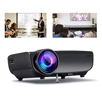 WAOBE Proyector,1080p LED proyector portátil Interior, HD ...