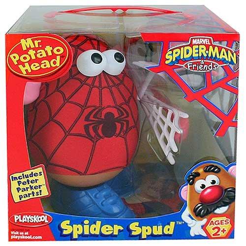 公式の  Mr. Head Potato Head Spud Spider Man Spider Spider Spud B002Z1QKCY, セントラルミュージック:efa1a0e7 --- mcrisartesanato.com.br