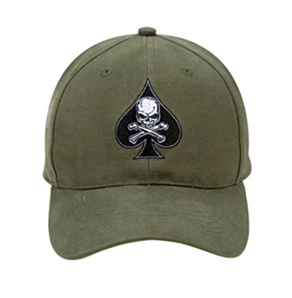 Amazon.com  Rothco Low Profile Cap Death Spade 6ec6c94355