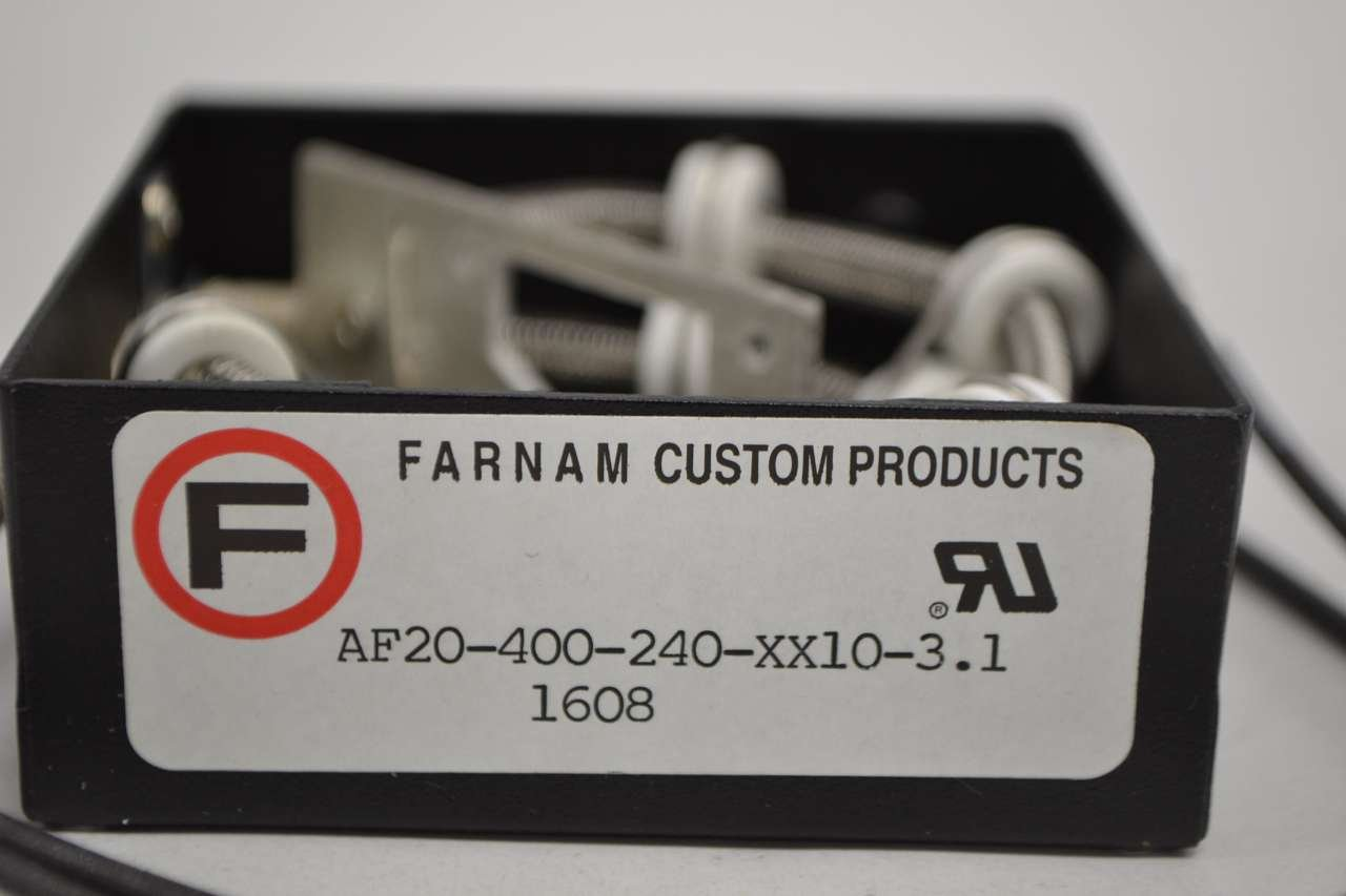 "Farnam AF20-800-120-XX10-4.7 Heater Coil Only 200W 120 Vac 5/""x 5/"" x 1 1//4/"" NEW!"