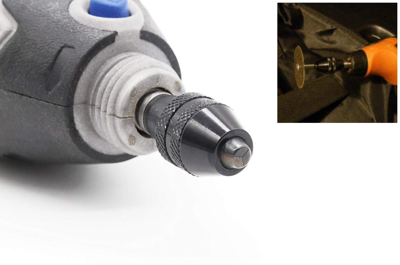 LESOLEIL 0.4-3.4mm portabrocas universal electric Grinding Chuck para Dremel Lote de 2