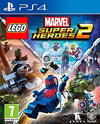 Lego Marvel Super Heroes 2 Ps4 Game In English Box Spain Amazon Co