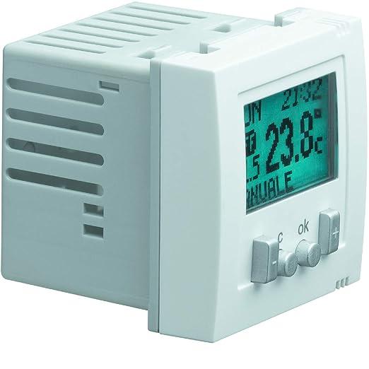 Hager systo - Termostato ambiente systo electronico ...