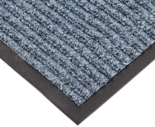 NoTrax T39 Bristol Ridge Scraper Carpet Mat, for Wet and Dry Areas, 3' Width x 6' Length x 3/8