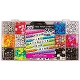 Fashion Angels Tell Your Story Alphabet Bead Case Bracelet Making Kit (500+ Set)