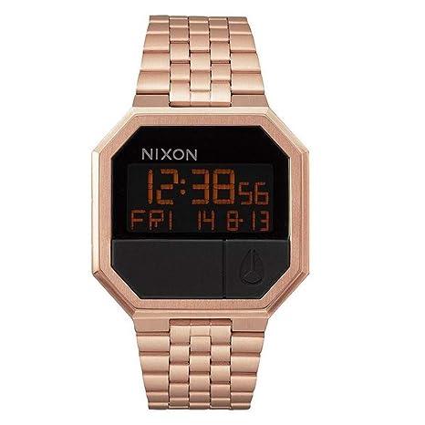 Nixon Reloj Digital de Cuarzo para Mujer con Correa de Acero Inoxidable – A158897-00