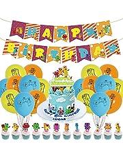 Numberblocks Party Supplies,Numberblocks Birthday Party Decorations,NumberblocksTheme Birthday Party Suppliers for Kid's Birthday Party