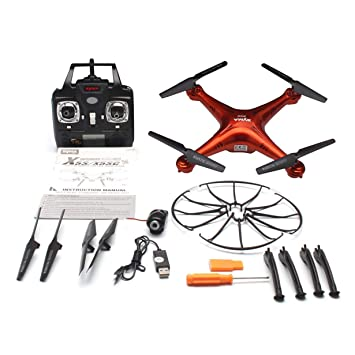 Comomingo SYMA X5SC 2.4G RC Quadcopter Drone con Modo de cámara ...