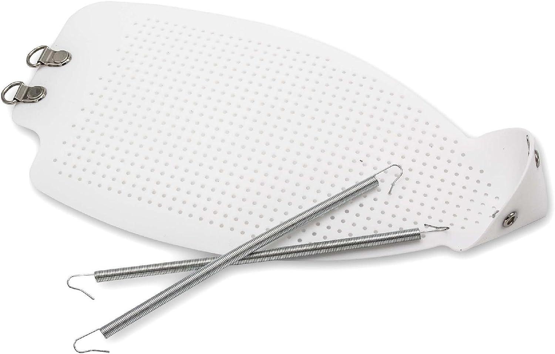 vhbw suela de protección (250 x 130 mm) para planchas de DeLonghi