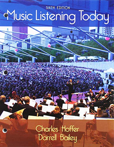 (Bundle: Music Listening Today, 6th + MindTap Music, 1 term (6 months) Printed Access Card)