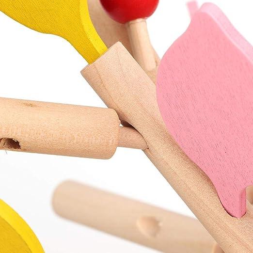 Feuille Jaune Zerodis Puzzle 3D en Bois Feuilles des Arbres Jouets Educatifs Blocs de Construction DIY Puzzles Ins/ér/é Arbre Mod/èle de Collection Cr/éatif Jouets Educatifs pour B/éb/é