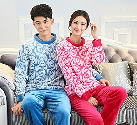 Amazon.com: LJ&L Flannel Breathable Nightgown Large Size Couple Comfortable Nightgown Loose Bathrobe Fashion Pajamas,Men Lattice,XXL: Home & Kitchen