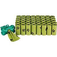 Bolsas para Caca de Perro, 40 Rollos (600 Bolsas) Completamente a Prueba de Fugas, Bolsas ecológicas para residuos de…
