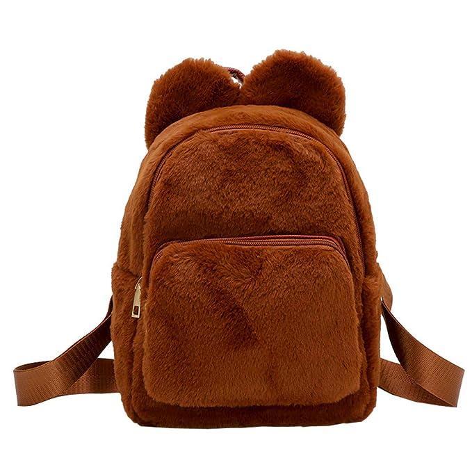 Damen Mädchen Glitzern Rucksack Sports Schultertasche Reisetasche Schulranzen DE