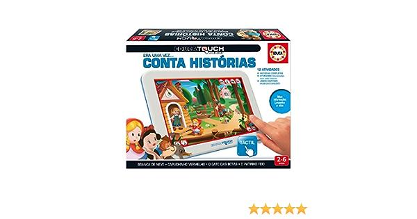 Educa Touch - Junior Conta Histórias, Juego Educativo en portugués (16095)